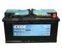 Аккумулятор Exide Start-Stop AGM 95Ah 850A